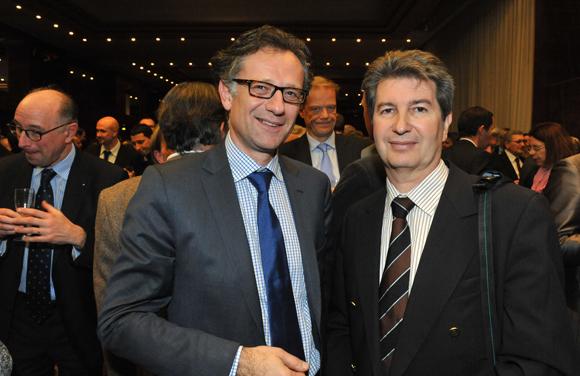 13. Arnaud Besson (Aéroports de Lyon) et Michel Dujardin (Le groupe la poste)
