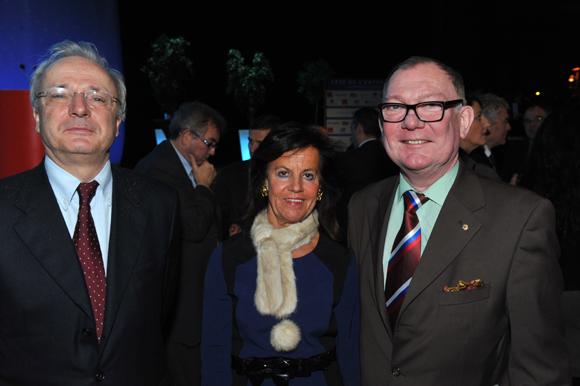 14. Hervé Bronner, consul du Kazakhstan, Béryl Maillard, consul de St Domingue et Philippe Bordier, consul de Russie