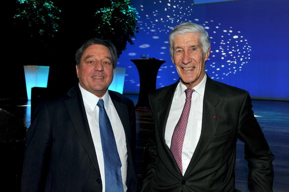15. François Turcas, président CGPME Rhône et Joël de Rosnay