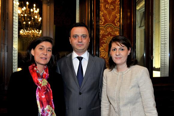 16. Marie-Christine Herrbach, Gabriela Dancau, consul général de Roumanie et son époux Constantin