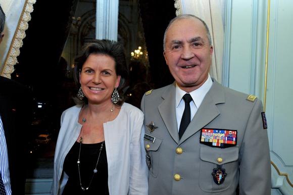20. Le général Martial de Braquilanges, gouverneur militaire de Lyon et son épouse Elisabeth