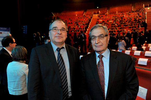 20. Yves Chavant, président du Tribunal de commerce de Lyon et Jean Yerdamian, président du conseil des prud'hommes de Villefranche