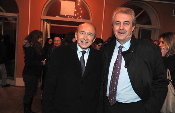 20. Gérard Collomb, sénateur maire de Lyon et Maître Richard Brumm, adjoint aux Finances