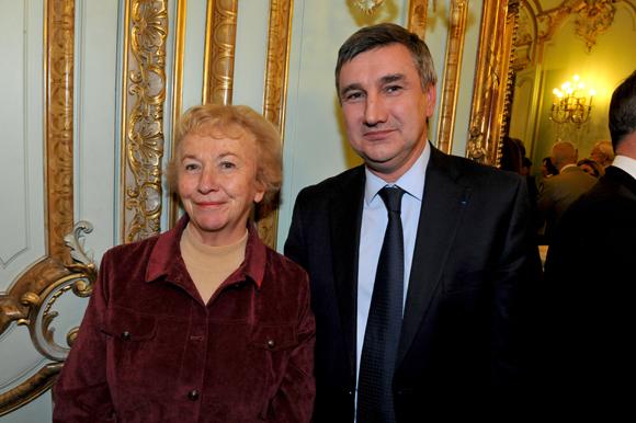 21. Danièle Chuzeville, présidente du Conseil général et Christophe Guilloteau, député du Rhône