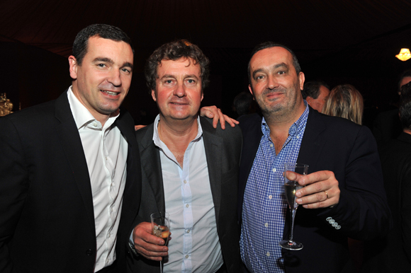 23. Georges Davesa (Nutrisens), Hervé Bal (Editions HB) et Pierre Nallet (AnaHome Immobilier)