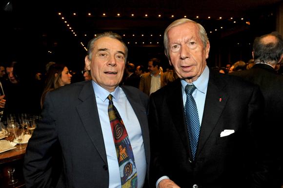 23. Claude Chardon (CCI Rhône-Alpes) et Guy Malher, ancien président de la CCI