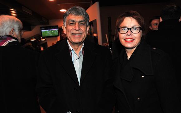 25. Manan Atchkezai, président de la SFIP et Sandrine Neuzeret (SFIP Sécurité)