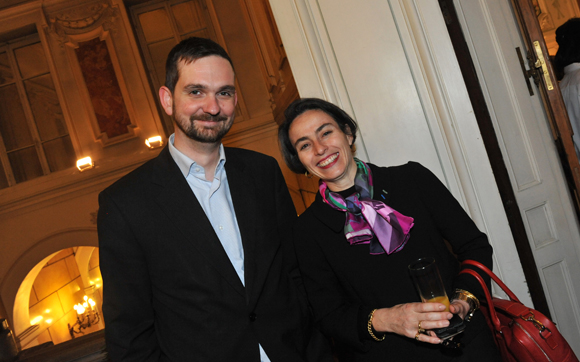 26. Pierre Durieux, directeur de cabinet du cardinal Barbarin et Maria-Anne Privat-Savigny, directrice du Musée Gadagne