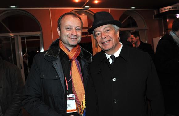26. Marco (Lyon People) et Philippe Grillot, ancien président de la CCI