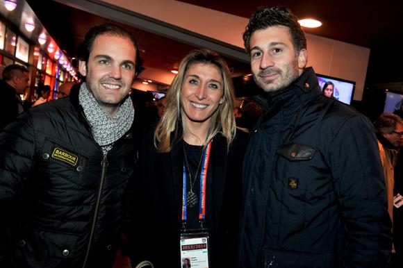 27. Romain Coponat (Coponat Sa), Virginie Adnet (OL) et Matthias Barsumian (Nagabbo)