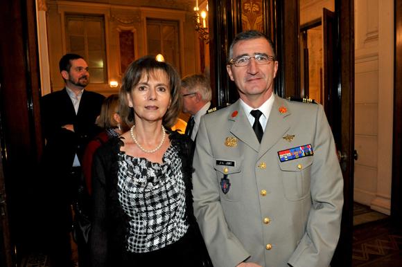 3. Le colonel Jean-Luc Jort et son épouse Patricia