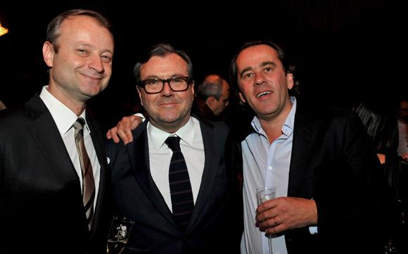 32. Marco (Lyon People), Thierry Mathieu (Duferco) et Romée De Tarlé (RT Conseils)