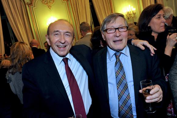 33. Gérard Collomb, sénateur-maire de Lyon et Jean-Jacques David, maire du 6ème