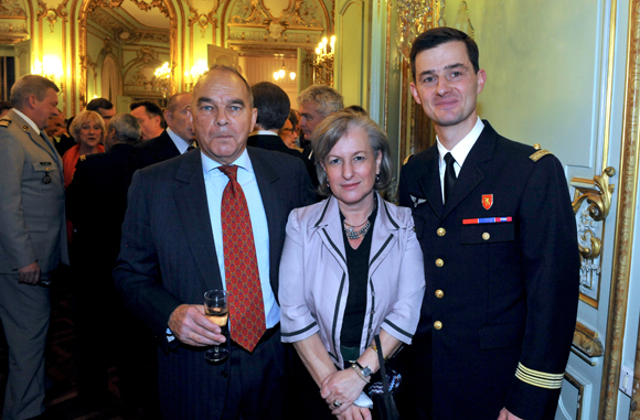 34. Le général François Mestrallet, Marie Guyon et le colonel Etienne Gourdain