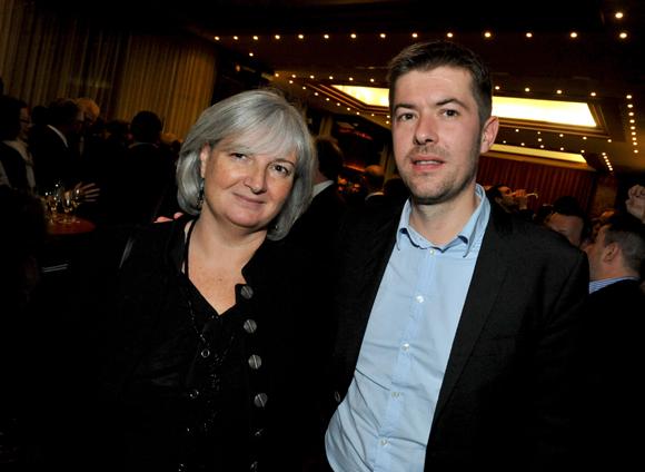 35. Coryne Nicq (Agence Coryne Nicq) et Yann Féminier (Medef Lyon-Rhône)