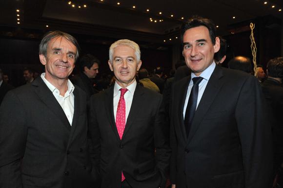 36. Bruno Rousset (April), Jean-Pierre Levayer et Frédéric Panigot (Banque Populaire)