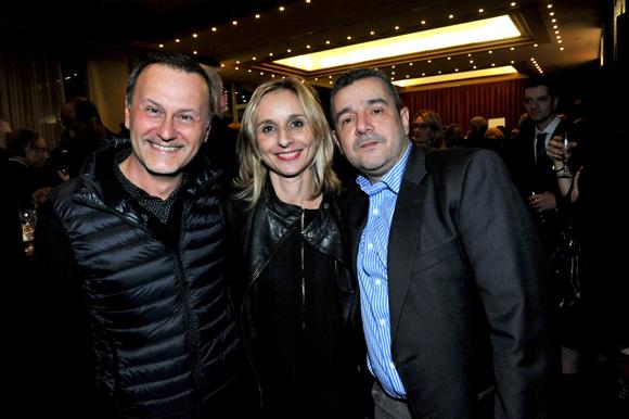 37. François Pierre Salamand (Plus2Sens), Céline Paravy-Atlan (Mapièce) et Jean-Marc Atlan (Ekno)