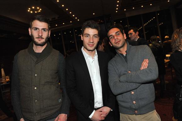 38. Emeric Mouillot (Biodegr'ad), Alexandre Assous (Deepidoo) et Nicolas Emmanuel (Ci-Transaction)