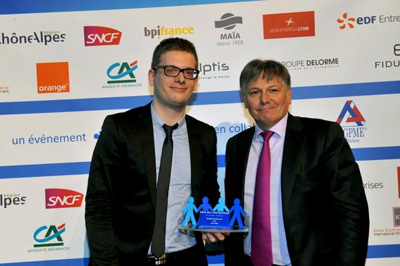 38. Trophée coup de cœur du jury remis par Olivier Delorme (Groupe Delorme Automobile) à Thomas Gasser (Aviasim)