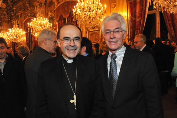40. Le cardinal Philippe Barbarin et le pasteur Wulf Opperman