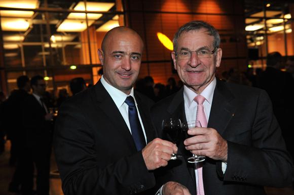 40. Pierre-Jean Baillot et Daniel Gouffé, président d'ERAI