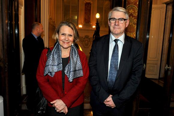 4. Françoise Moulin Civil, recteur de l'Académie de Lyon et Jean-Louis Baglan, directeur académique du Rhône