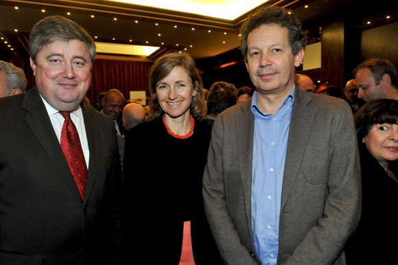 42. Benoit Soury (La Vie Claire), Blandine Vignon (CCI Lyon) et Vincent Rocken (Le Progrès)