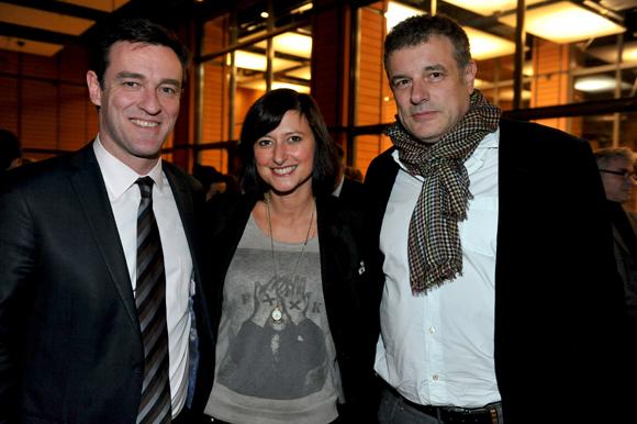 42. Michel Havard, Séverine Eberhardt (Welcome Magazine) et Gilles Demange (Orosa)