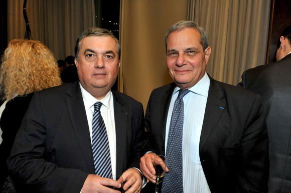 43.  Maitre Joseph Aguera (Joseph Aguera & Associés) et Yves  Lacroix , président  Promenia