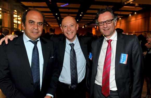 43. Aziz Lamrani (ABM Maroc), Philippe Bernand et Arnaud Besson (Aéroports de Lyon)