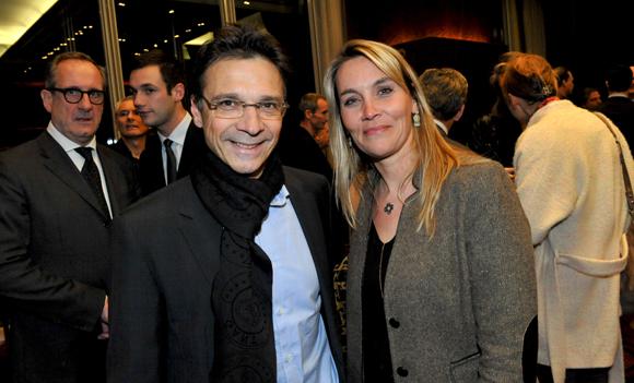 46. Olivier Bernardeau (OL) et Stéphanie Gagnaire-Recors (Brice Robert)