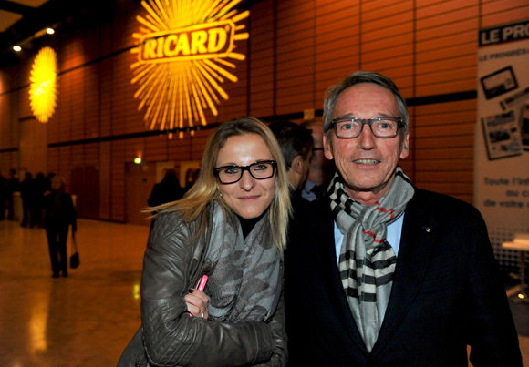 46. Céline Moille (Corps consulaire) et Bruno Dufour, consul d'Equateur
