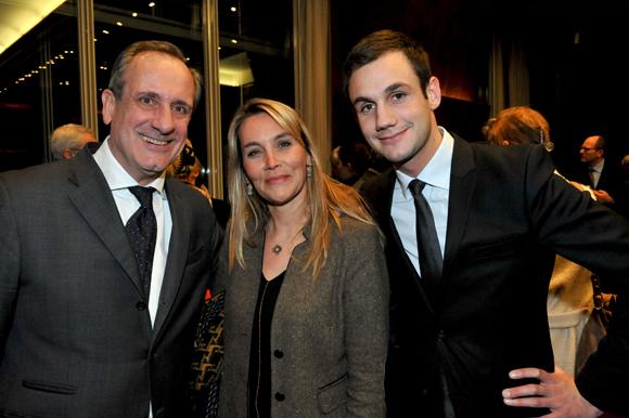 47. Philippe Florentin, son fils Lucas (Zinc Zinc) et Stéphanie Gagnaire-Recors (Brice Robert)