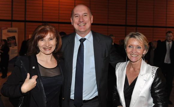 47. Isabelle Gonon (Byblos Group), Jean-Luc Logel (Eden) et Michele Hingrez
