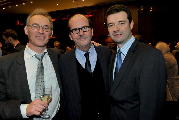 48. Christian Tinel (Groupe CR&M), Gérard Auboeuf (ONLYLYON) et Franck Morize (CGPME)