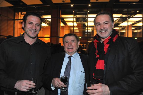48. Laurent  Belligoi (IHL), Pierre Martinet, le traiteur intraitable et Olivier Chatard (Delta Light)