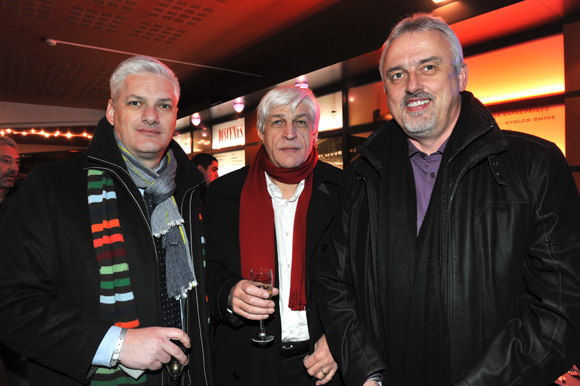 5. Nektarios Havredakis, Gérard Vayres et Jean-Max Bouchard (Toupargel)
