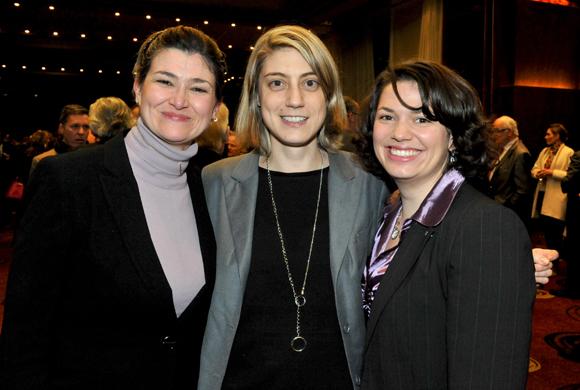51. Marie-France Memeteau (Space), Agnès Sarrazin-Millet et Stéfanie Cochet (JCI)