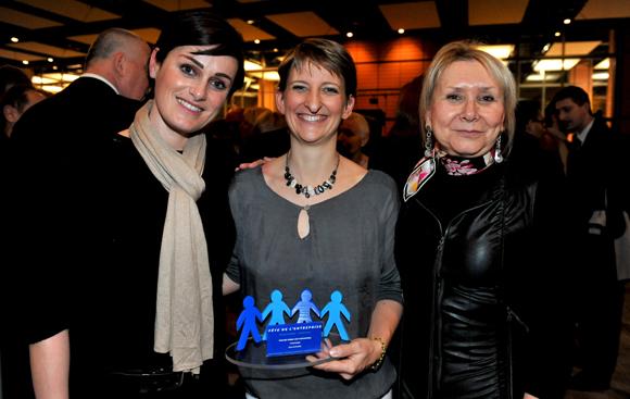 54. Céline Maisonnave (Mc & Léon Luxury services), Sylvie Guinard (Thimonnier) et Marie-France Messageot (CGPME)