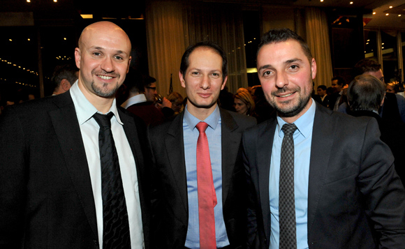 55. Stéphane Crapiz, Jérôme Consti (FBI Groupe) et Frédéric Soriano (BEIC)