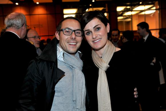 55. Fabrice Casagrande (Philips) et Céline Maisonnave (Mc & Léon Luxury services)