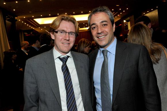 56. Franck Boucaud-Maitre (Chocolats Voisins) et Ignacio Rodriguez, Manager général – Hilton Lyon