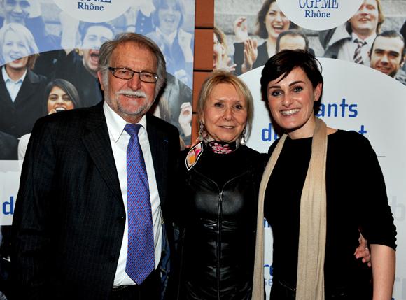 56. Jo Reina, Marie-France Messageot (CGPME) et Céline Maisonnave (Mc & Léon Luxury services)