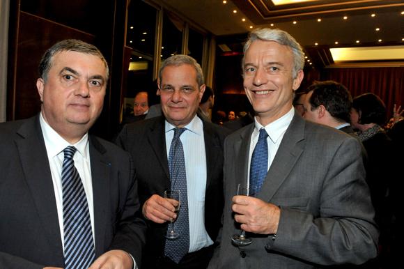 59. Maitre Joseph Aguera (Joseph Aguera & Associés), Yves  Lacroix, président  Promenia et Patrick Martin (Martin Belaysoud Expension)