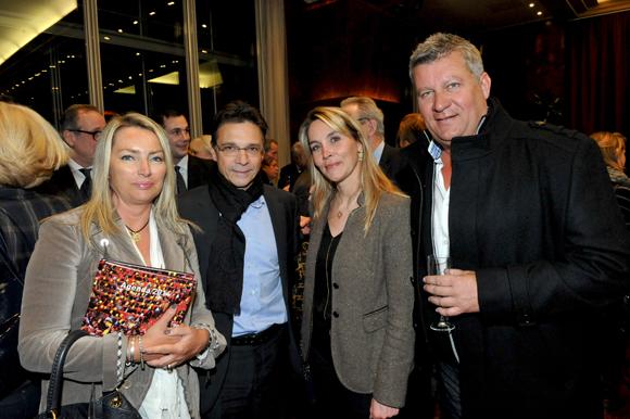 61. Corinne Paris (Allianz), Olivier Bernardeau (OL), Stéphanie Gagnaire-Recors (Brice Robert) et Christophe Gerbaud (Allianz)