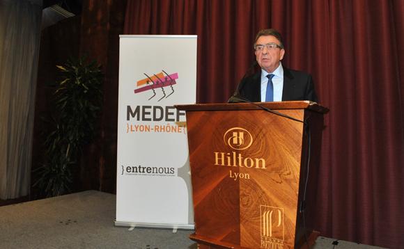 6. Bernard Fontanel, président du Medef Lyon