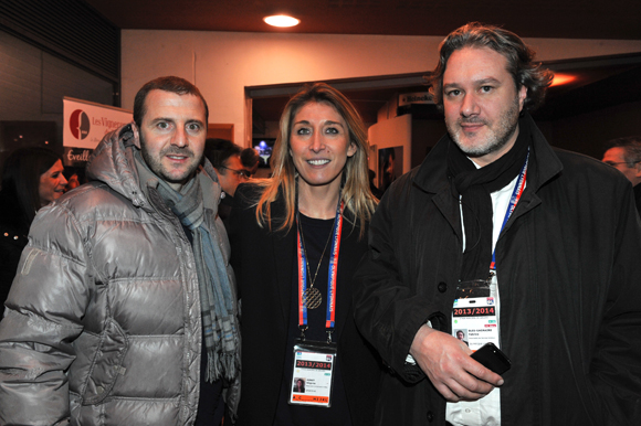 6. Florian Maurice, Virginie Adnet et Fabrice Bles-Gagnaire (OL)