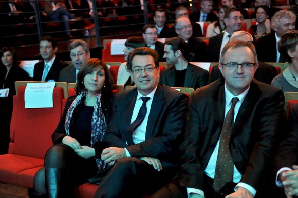 6ter. Nora Berra, Philippe Cochet, député-maire de Caluire et