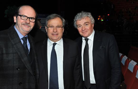 7. Gérard Auboeuf (Only Lyon), Emmanuel Imberton, président de la CCI de Lyon et Jean-Louis Joly, DG du Medef Lyon-Rhône