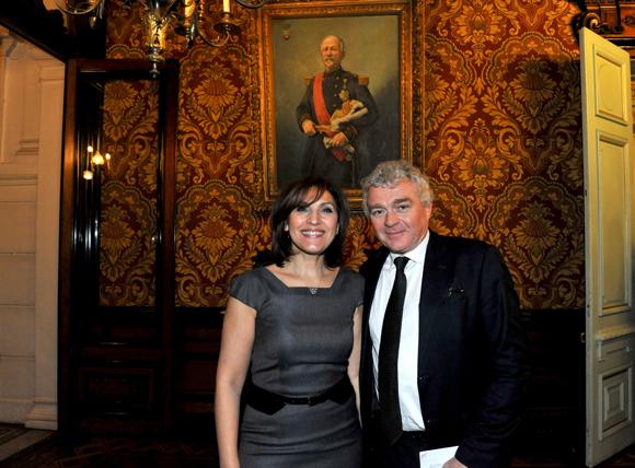 8. Nora Berra, député européen et Jean-Louis Joly, DG du Medef Lyon-Rhône